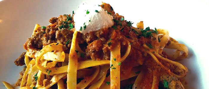 House Made Pappardele Bolognese