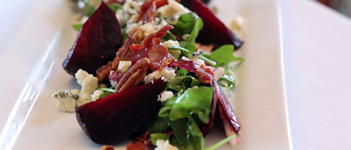 Roasted Red Beet Salad